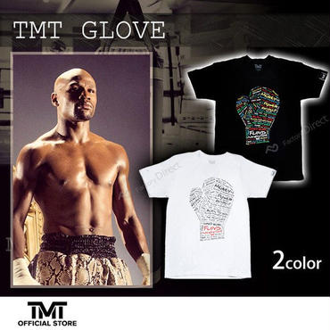 【THE MONEY TEAM】 TMT GLOVE White T-Shirt