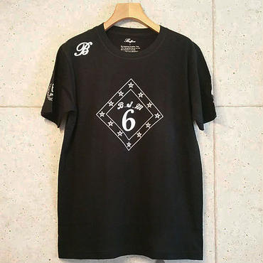 【BUFFONE】No.8 Black T-Shirt
