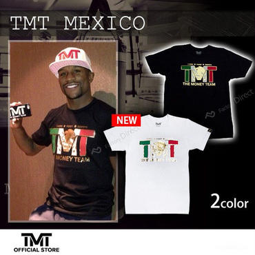 【THE MONEY TEAM】TMT MEXICO Black T-Shirt