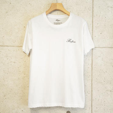 【BUFFONE】No.5 White T-Shirt