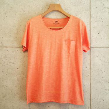 【RAFFAELLO】ORANGE ROUND NECK T-Shirt