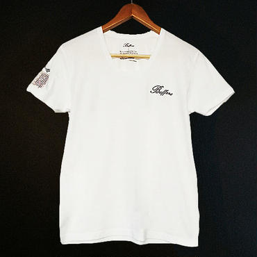 【BUFFONE】No.12 White T-Shirt