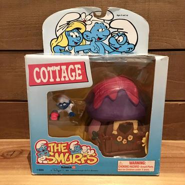 THE SMURF Cottage & Crawlin's Baby PVC Figure/スマーフ コテージ & クラウリンベイビー PVCフィギュア/181209-1