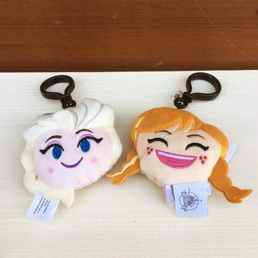 FROZEN Emoji Plush Clip Elsa & Anna/アナと雪の女王 エモジプラッシュクリップ エルサ & アナ/180121-3