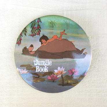 Jungle Book Button/ジャングルブック 缶バッジ/180127-2