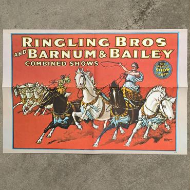 Ringling Bros. and Barnum & Bailey Circus Poster/バーナムのサーカス ポスター/180720-10