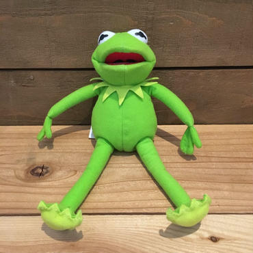 THE MUPPETS Kermit the Frog Plush Doll/マペッツ カーミット・ザ・フロッグ ぬいぐるみ/181024-8