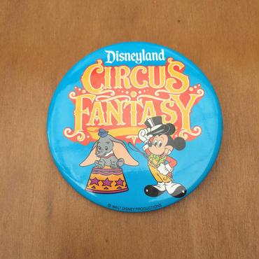 Disney Disneyland Circus Fantasy Button/ディズニー ディズニーランド サーカスファンタジー 缶バッジ/170813-8