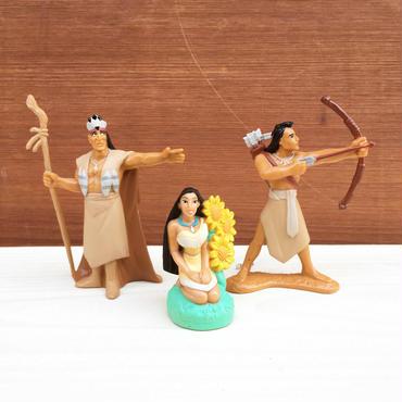 POCAHONTAS PVC Figure Set/ポカホンタス PVCフィギュアセット/180217-1
