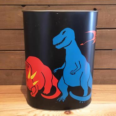 Dinosaur Trush Can/恐竜 ゴミ箱/180123-10