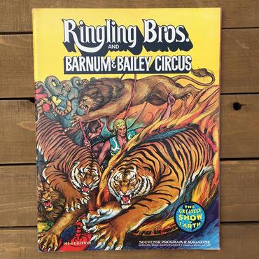 Ringling Bros. and Barnum & Bailey Circus Program 101st/バーナムのサーカス プログラム 101回目版/180720-15