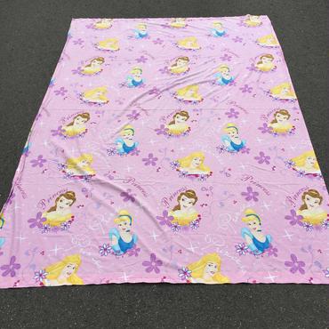 Disney Princess Twin Flat Sheets/ディズニー プリンセス ヴィンテージ ツインフラットシングルシーツ/160906-5