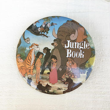 Jungle Book Button/ジャングルブック 缶バッジ/180127-1