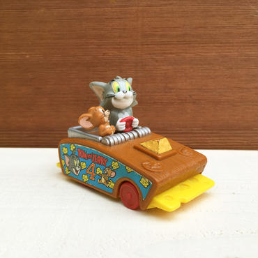 TOM and JERRY Tom & Jerry Pullback Car/トムとジェリー プルバックカー/18402-1