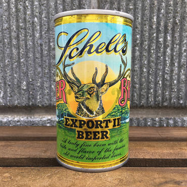 VINTAGE CAN Schell's Beer Can/ヴィンテージ缶 シェルス ビアー缶/161011-7