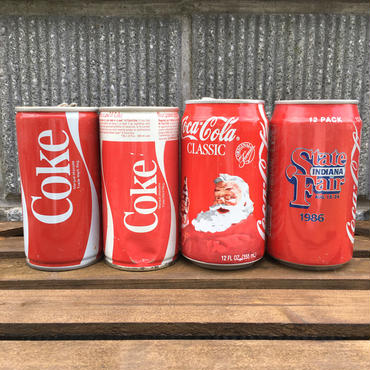 VINTAGE CAN Coca Cola Soda Can/ヴィンテージ缶 コカ・コーラ  ソーダ缶/161011-12