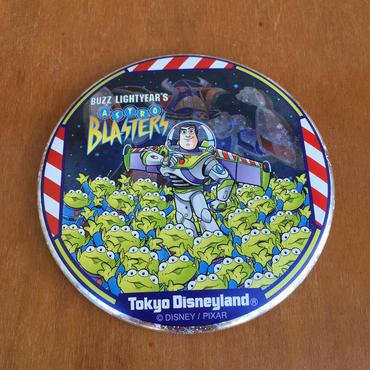 TOY STORY Astro Blaster Button/トイストーリー バズのアストロブラスター 缶バッジ/171125-4