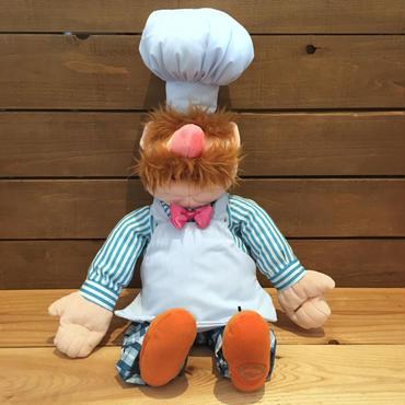 THE MUPPETS The Swedish Chef Plush Doll/マペッツ スエディッシュ・シェフ ぬいぐるみ/181024-3