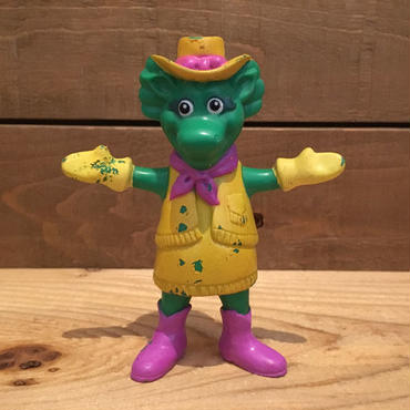 BARNEY Baby Bop Bendable Figure/バーニー ベイビーボップ ベンダブルフィギュア/180810-12