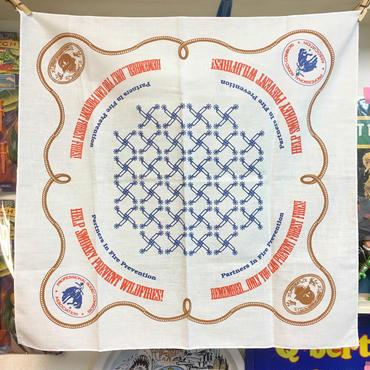 SMOKEY BEAR Smokey Bear Handkerchief/スモーキーベア ハンカチ/170902-6