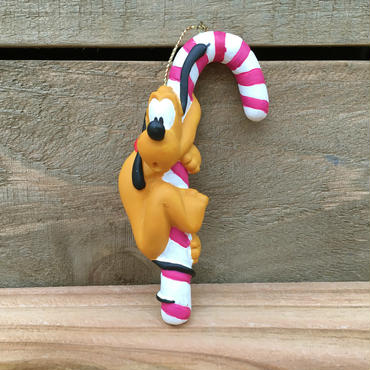 Disney Pluto Xmas Ornament/ディズニー プルート クリスマスオーナメント/15124-10