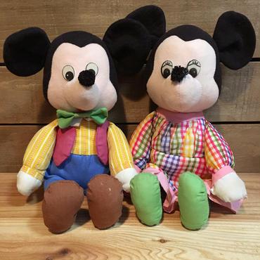 Disney Country Mickey&Minnie Plush/ディズニー カントリーミッキー&ミニー ぬいぐるみ/170205-8