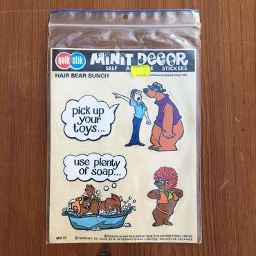 HAIR BEAR BUNCH Minit Decor/ヘアベアバンチ ミニットデカール/180923-6