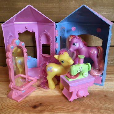 G3 My Little Pony Frilly Frocks Boutique/G3マイリトルポニー フライリーフロックスブティック/170210-11