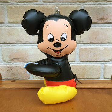 Disney Mickey Mouse Inflatable Toy/ディズニー ミッキー・マウス 空ビ人形/170811-1