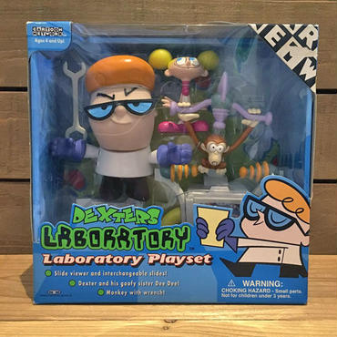 DEXTERS LABORATORY Laboratory Playset/デクスターズ・ラボ ラボラトリー プレイセット/181109-7