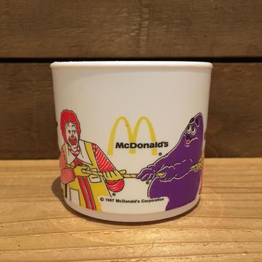 McDonald's Plastic Cup/マクドナルド プラスチックカップ/180923-2