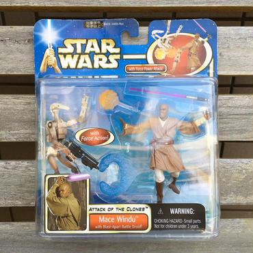 STAR WARS Force Action Mace Windu Figure/スターウォーズ フォースアクション メイス・ウィンドゥ フィギュア/180420-3