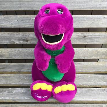BARNEY Talking Barney Plush Doll/バーニー トーキング・バーニー ぬいぐるみ/180609-3