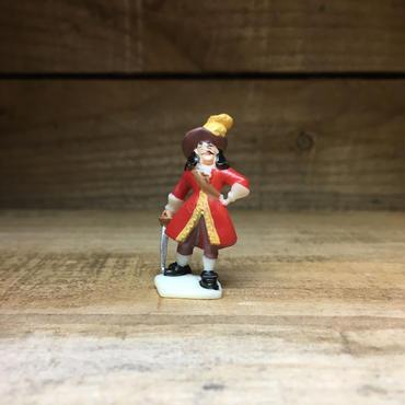 PETER PAN Captain Hook Plastic Figure/ピーターパン フック船長 プラスチックフィギュア/181119-3