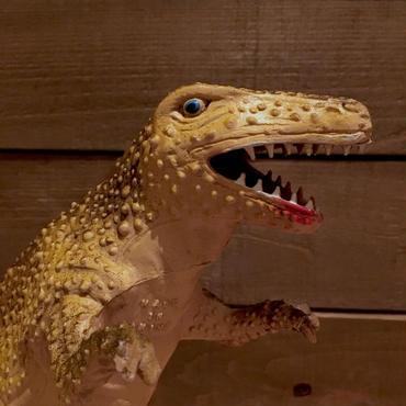 DINOSAUR Tyrannosaurus Rubber Toy/恐竜 ティラノサウルス ラバートイ/181018-19