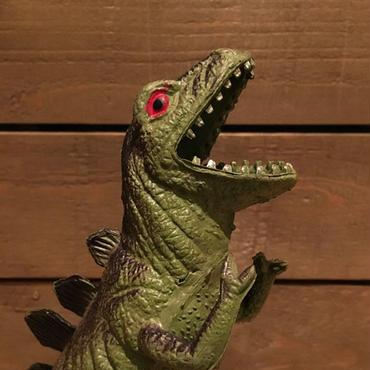 DINOSAUR Stegosaurs? Rubber Toy/恐竜 ステゴサウルス? ラバートイ/181023-8