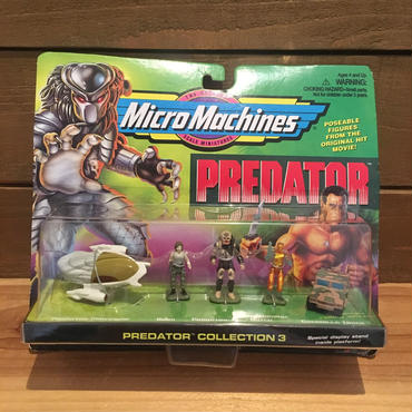 PREDATOR Micro Machines Predator Figure Set/プレデター マイクロマシン フィギュアセット/181207-9