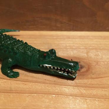 Crocodile Rubber Toy/ワニ ラバートイ/181018-14