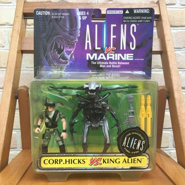 ALIENS Corp.Hicks VS King Alien Figure/エイリアン ヒックスVSキングエイリアン フィギュア/170915-6