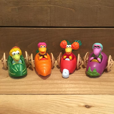 FRAGGLE ROCK Happy Meal Set/フラグルロック ハッピーミール 4種セット/181016-12