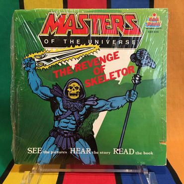 MOTU Talking Story Book The Revenge of Skeletor/マスターズオブザユニバース トーキング絵本 ザ リベンジ オブ スケルター/160314-6