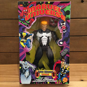 SPIDER-MAN 10Inch Super Naturals Venom Figure/スパイダーマン 10インチ スーパーナチュラルズ・ヴェノム フィギュア/181101-8