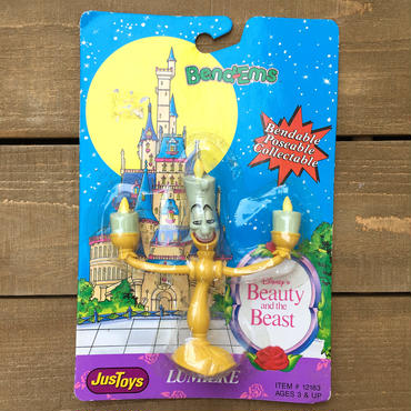 Beauty and the Beast Bend-ems Lumiere/美女と野獣 ベンダブルフィギュア ルミエール/170506-5