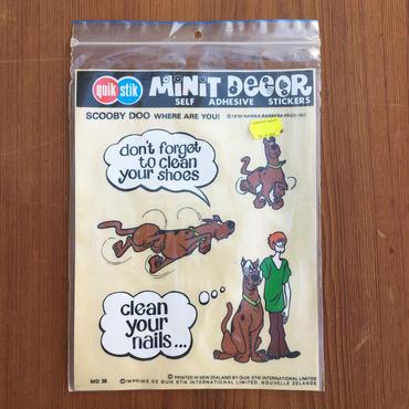SCOOBY DOO Minit Decor/スクービー・ドゥ ミニットデカール/180923-8