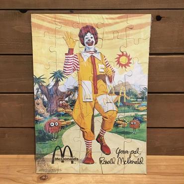 McDonald's Mcpuzzle/マクドナルド マックパズル/180923-1