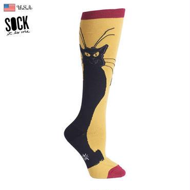 "【Sock it to me】""Chat Noir""レディスソックス クロネコ"