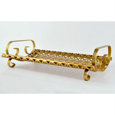 【American Vintage】Gold Plated Tray ゴールドトレイ from Los Angeles