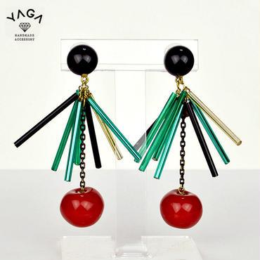 【YAGA】Apple Earrings アップルイヤリング
