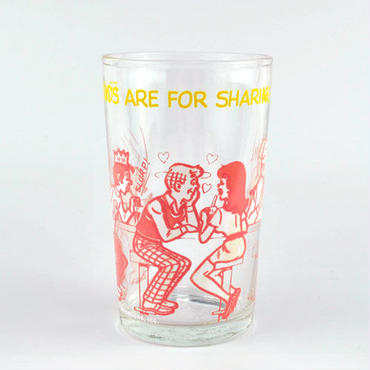 【American Vintage】The Archie Show Glass アーチーでなくっちゃ!グラス ピンク from Portland