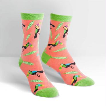 """Sock it to me """"Toucans"""" ソックス 「トーカン鳥」"""